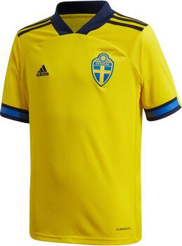 adidas Sverige 20/21 Hjemmebanetrøje Junior