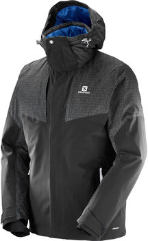 Salomon Icerocket Mix Jacket Herrer Sort