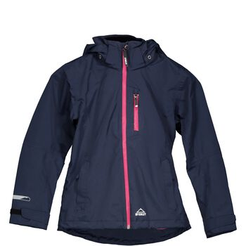 McKINLEY Drizzle Rain Jacket Junior Blå
