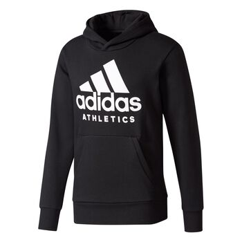 ADIDAS Branded Pullover Fleece Herrer Sort