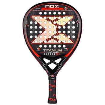 NOX Luxury Titanium 3K padel bat
