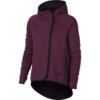 Nike Sportswear Tech Fleece Cape Damer Rød
