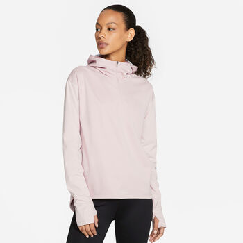 Nike Shield Run Division Trøje Damer Pink