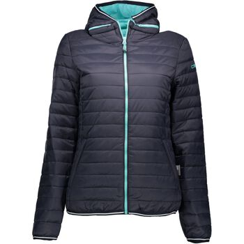 CMP Jacket Zip Hood Damer Sort