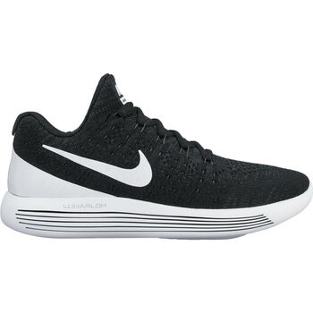 Nike Lunarepic Low Flyknit 2 Damer Sort