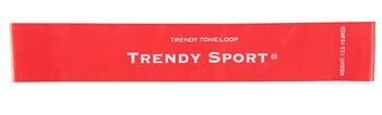 Trendy Tone Loop Elastikbånd - RØD - SVÆR
