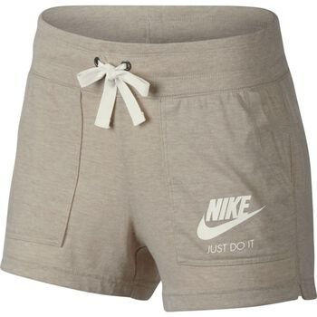 Nike NSW Gym Vintage Short Damer Gul