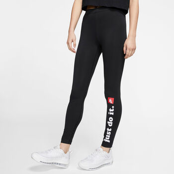 Nike Sportswear Club Leggings Damer Sort