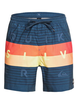 "Quiksilver Word Block Volley 17"" Herrer"