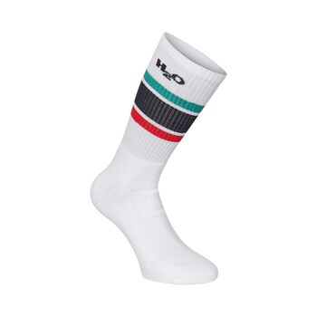 H2O Uni/Sock/Crew Hvid