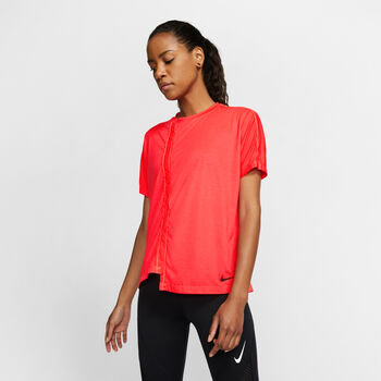 Nike Short-Sleeve Running Top Damer