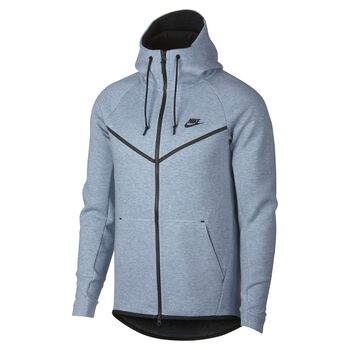 Nike Nsw Tech Fleece WR Hoodie Fz Mænd Blå