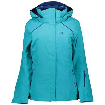 Salomon Strike Ski Jacket Damer Blå