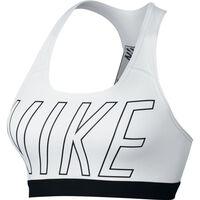 Nike Pro Classic Logo Read Bra - Kvinder Hvid