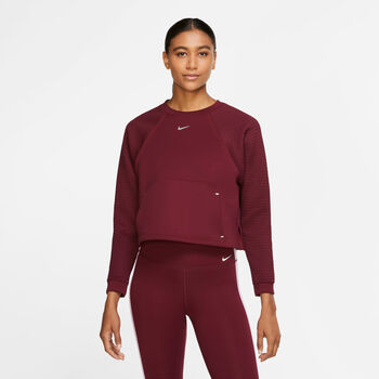 Nike Pro Fleece Crew Damer Lilla
