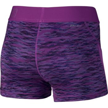 "Nike Pro HC 3"" Reflect Shorts Sort Damer Lilla"