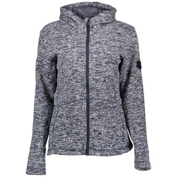 McKINLEY Liberty Knit Fleece Jacket Kvinder Blå