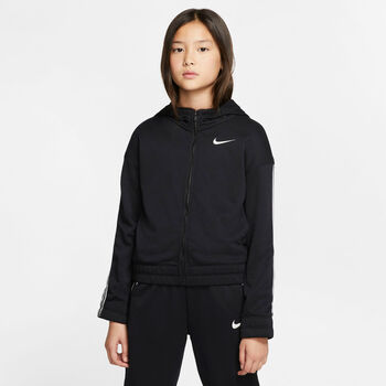 Nike Studio Full-Zip Hættetrøje Sort