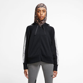 Nike Dri-FIT Get Fit Full-Zip Fleece Training Hoodie Damer