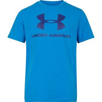 GEYSER Under Armour Sportstyle Logo T-shirt Blå