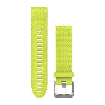 Garmin Fenix 5S 20mm Quickfit Neon Gul
