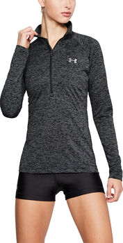 Under Armour Tech 1/2 Zip - Twist Damer Sort
