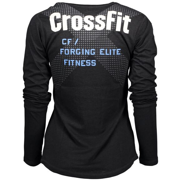 Crossfit LS Burnout Graphic
