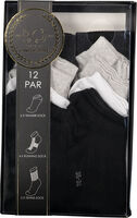 High/Low Sock 12-pack