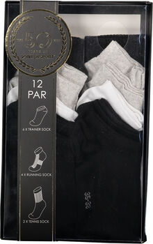 Intersport High/Low Sock 12-pack
