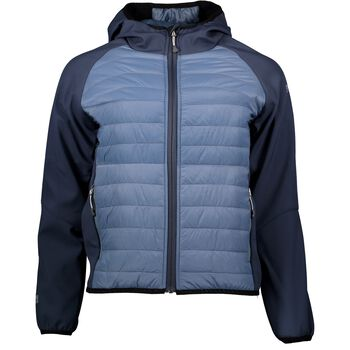 McKINLEY Hybrid Jacket Blå