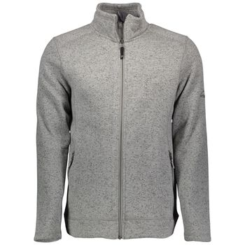 McKINLEY Rubin Knit Fleece Jacket Herrer Grå