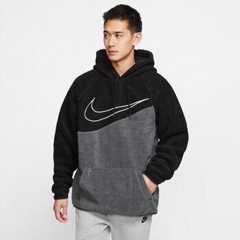 Nike Sportswear Swoosh Hoodie Herrer Sort