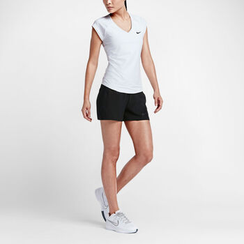 Nike Court Pure SS Tennis Tee Damer