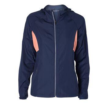 Les Deux Athletics Run Jacket Damer Blå
