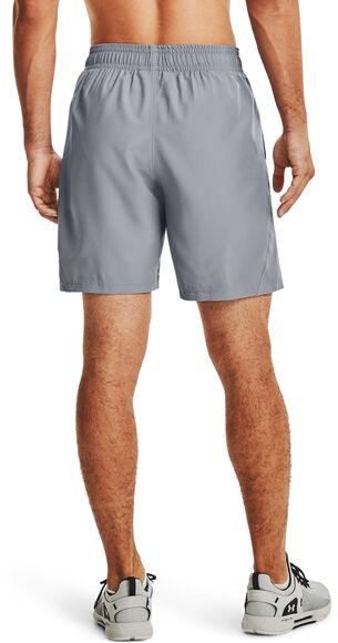 Woven Graphic Wordmark shorts