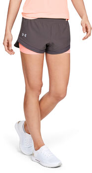 Under Armour   Qlifier Speedpocket 2-in-1 Shorts Damer