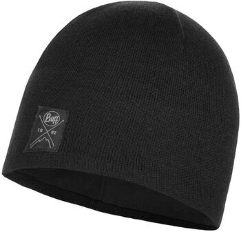 Buff Knitted Beanie Sort