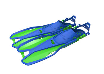 TECNOPRO F6 C Travel dykkerfødder