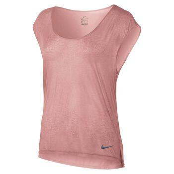 Nike Breathe Top SS Cool Damer Pink
