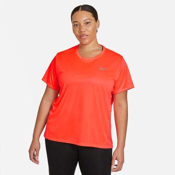 Nike Dri-FIT miler T-shirt (Plus Size) Damer