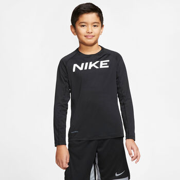 Nike Pro Trøje Sort