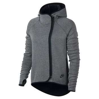 Nike Sportswear Tech Fleece Cape Damer Grå
