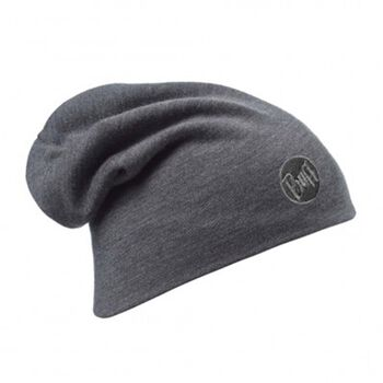 Buff Merino Wool Thermal Hat Grå
