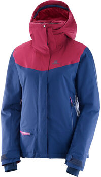 Salomon Quest Snow Jacket Damer Blå