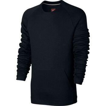 Nike Nsw Tech Fleece Crew LS Herrer Sort
