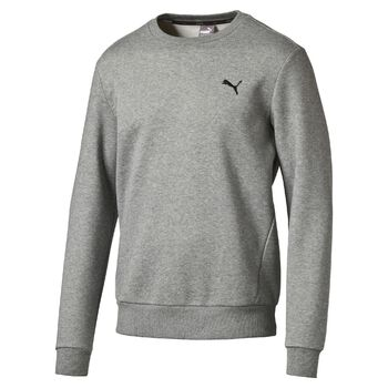 Puma Essential Crew Sweat Fleece Herrer Grå