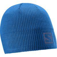 Salomon Logo Beanie Blue Yonder Osfa - Unisex