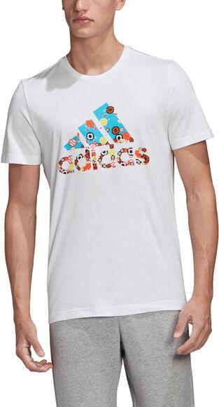 8-BIT Badge Of Sport T-shirt