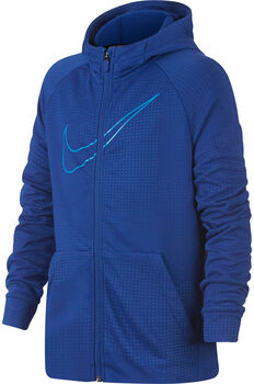 Nike B NK Dry Hoodie FZ Emboss Leg Drenge