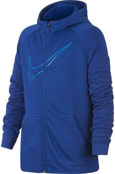 Nike Dry Hoodie FZ Emboss Leg Drenge